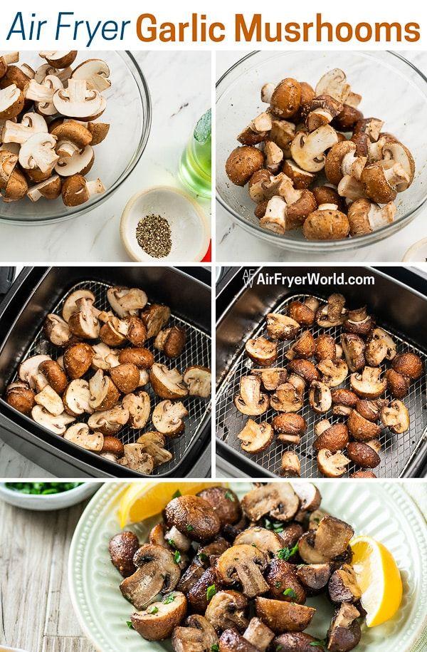 Best Air Fried Mushrooms Recipe in the Air Fryer Air