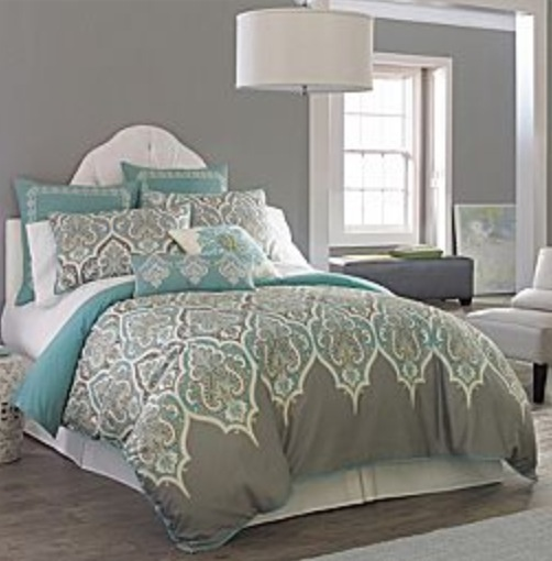 guest duvet cover bedding set jcpenney love the color combo and design