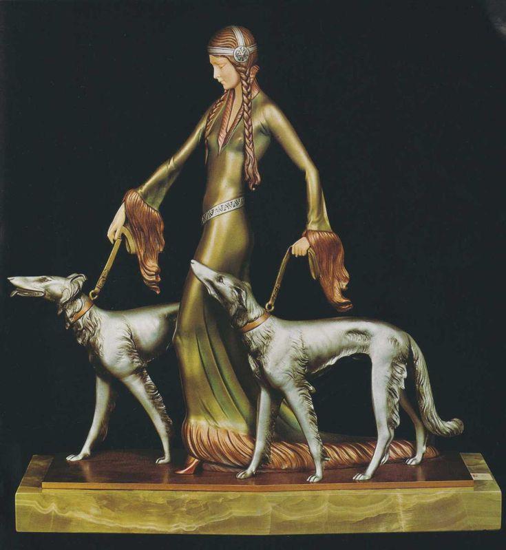 Les divines statuettes de Demetre Chiparus (1886-1947), sculpteur Art Déco.