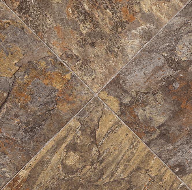 Collection: TOUCH OF COMFORT   Color: Romano 948 | Flexitec Sheet Vinyl  Tile Flooring