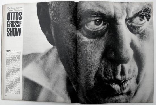 Twen magazine, Art Director/Editor Willy Fleckhaus, 1961