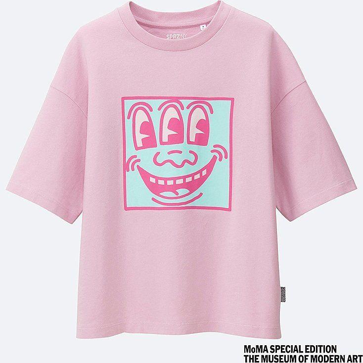 MEN SPRZ NY Keith Haring Graphic T-Shirt Keith Haring