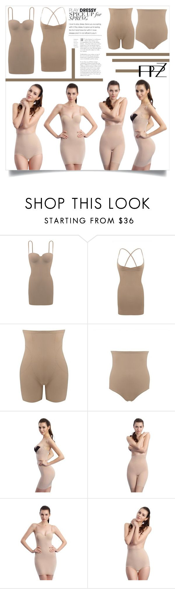 """PPZ SHAPEWEAR COLLECTIONS"" by ppz-brand ❤ liked on Polyvore"