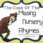 A Literacy Event: The Case of the Missing Nursery Rhymes – Family Literacy Night