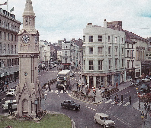 Hastings Town Centre. C1970