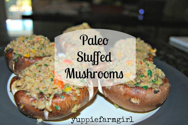 about Paleo Stuffed Mushrooms on Pinterest | Shrimp stuffed mushrooms ...