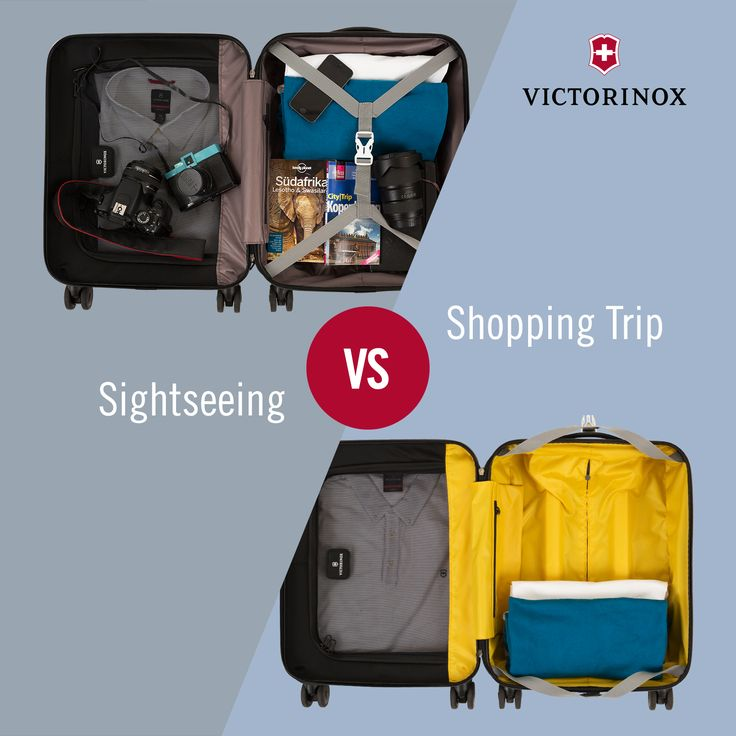 Sightseeing vs. Shopping Trip: When visiting a city, would you rather check out the famous spots or go shopping? #WhichTypeAreYou #Victorinox #TravelGear