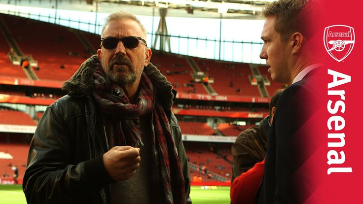 "Kevin Costner - ""Arsenal is my team"""