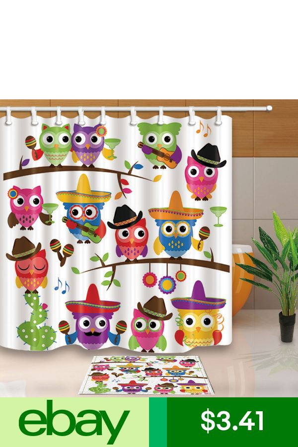 Shower Curtains Amp Liners Ebay Home Amp Garden Fabric Shower Curtains Waterproof Fabric