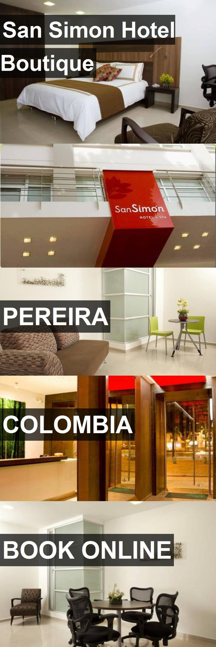 San Simon Hotel Boutique in Pereira, Colombia. For more information, photos, reviews and best prices please follow the link. #Colombia #Pereira #travel #vacation #hotel