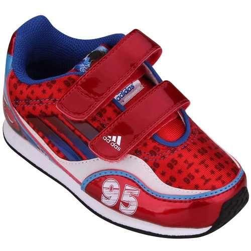 Tênis Adidas Infantil Disney Carros 2 Vermelho E Azul