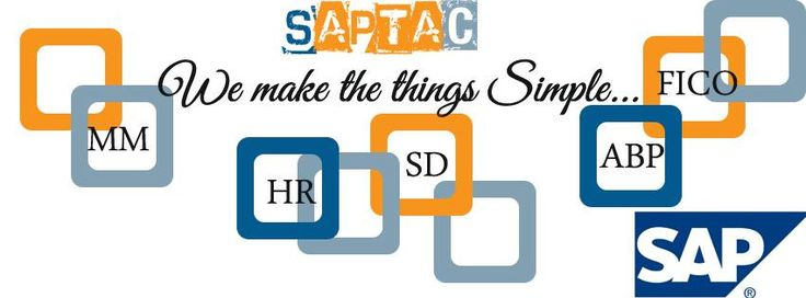 Best SAP training institute SAPTAC Bangalore, provides real-time and placement oriented SAP training in Bangalore. We provide Best SAP training courses in bangalore. SAPTAC content designed basic to advanced levels. We have a team of SAP experts who are working professionals with hands on SAP projects knowledge, which will give students an edge over other Training Institutes.   http://saptac.inube.com/blog/3972730/saptac-best-sap-training-institute-in-bangalore/