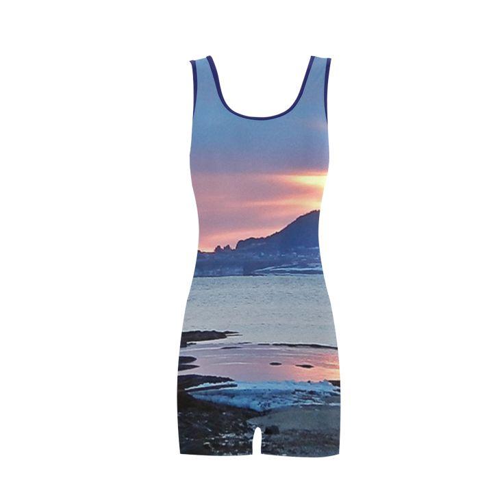 Sunrise in Tourelle Classic One Piece Swimwear.