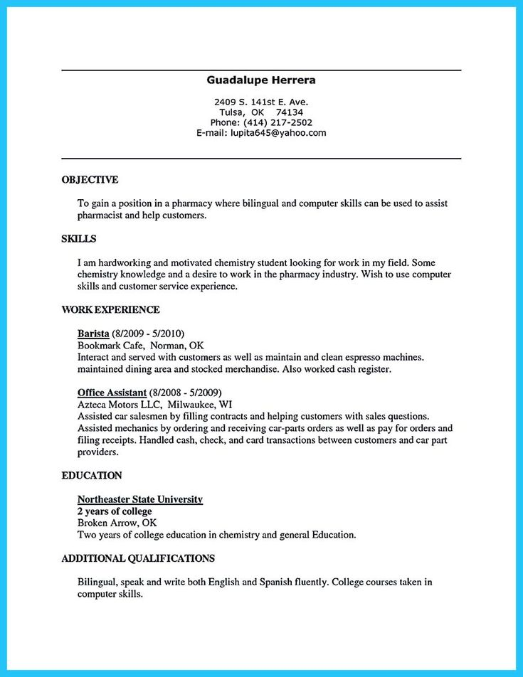 nice 30 Sophisticated Barista Resume Sample That Leads to Barista Jobs,