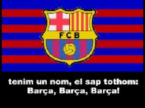 Himno del FCBarcelona