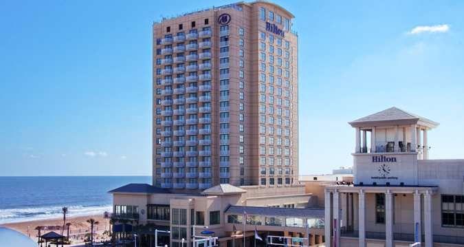Hilton Virginia Beach Oceanfront Hotel, Va - Exterior Oceanfront