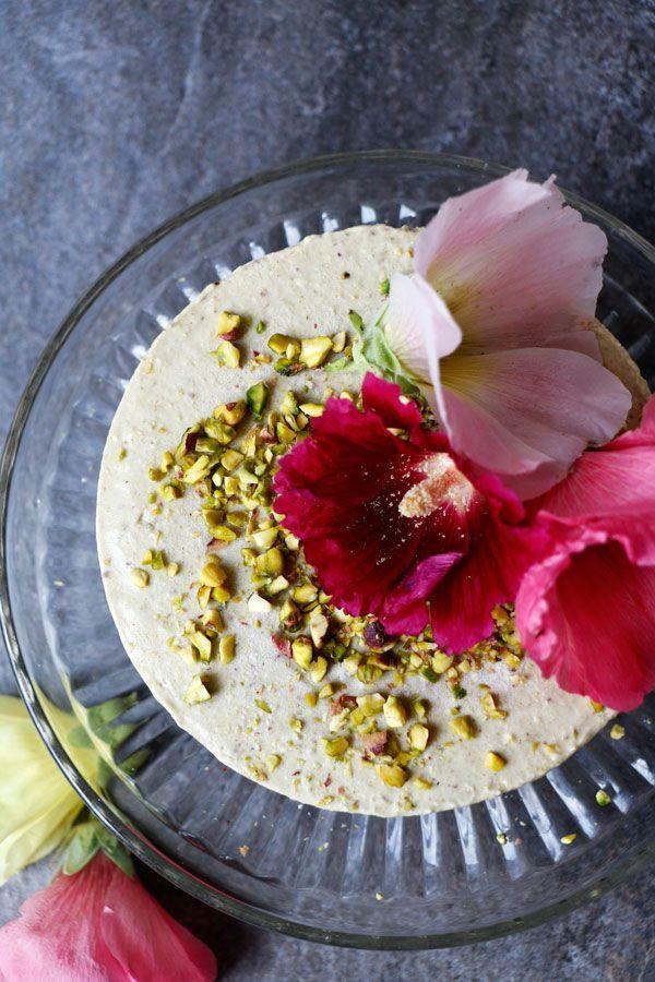 Pistachio Ice Cream Cake (grain-free & vegan)