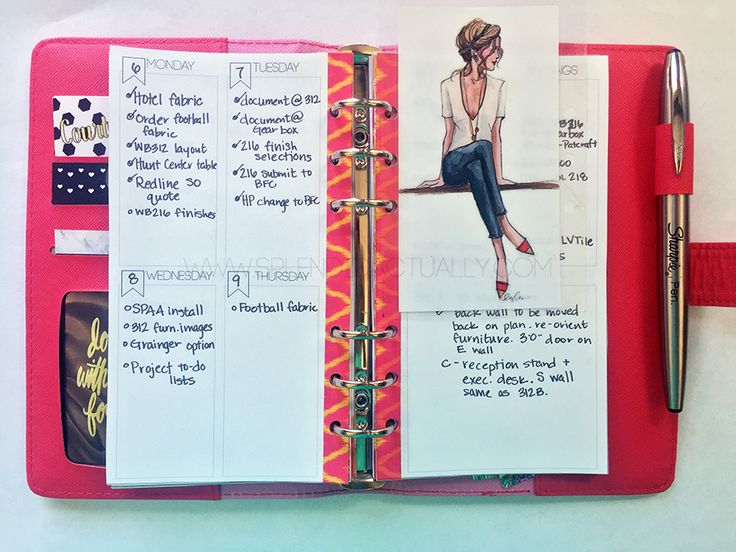 FREE printable personal planner inserts | splendid actually