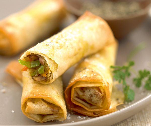 Découvrez une recette facile et originale de nems aux champignons à petit prix. A savourer à l'apéritif et au Nouvel an chinois. Joyeuses fêtes !