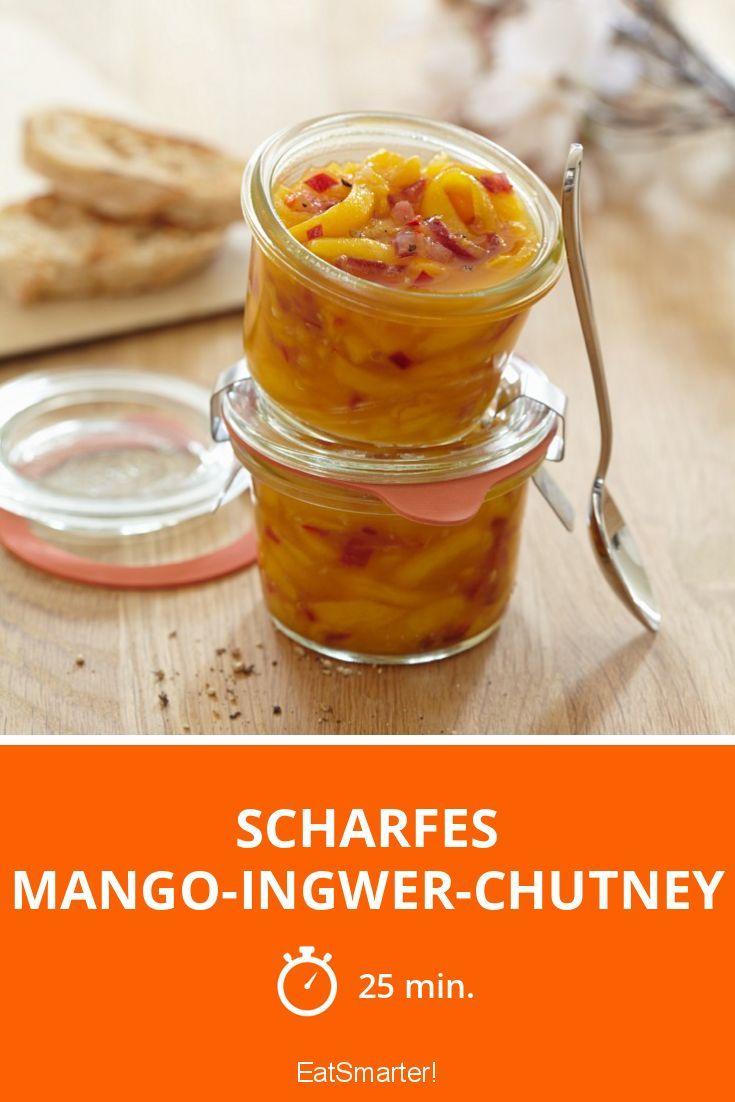 Scharfes Mango-Ingwer-Chutney - smarter - Zeit: 25 Min. | eatsmarter.de