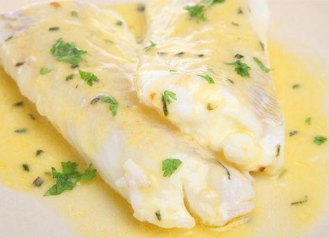 Champagnesaus. Lekker bij kabeljauw. - Champagne sauce. Serve with white fish (like cod)