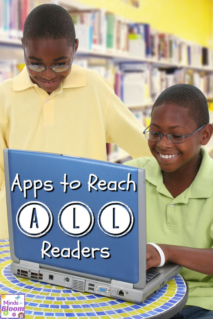 This post goes into details about six apps to use in your classroom to reach all readers. All of them have been used to improve reading comprehension and to master various reading strategies!