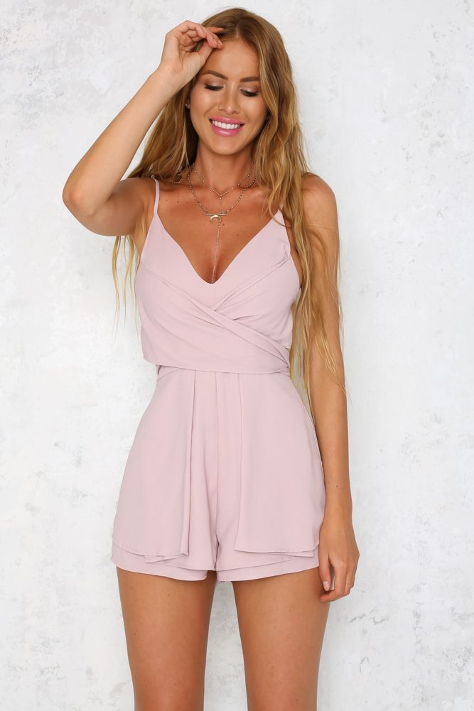 HelloMolly | Dolce Playsuit Blush
