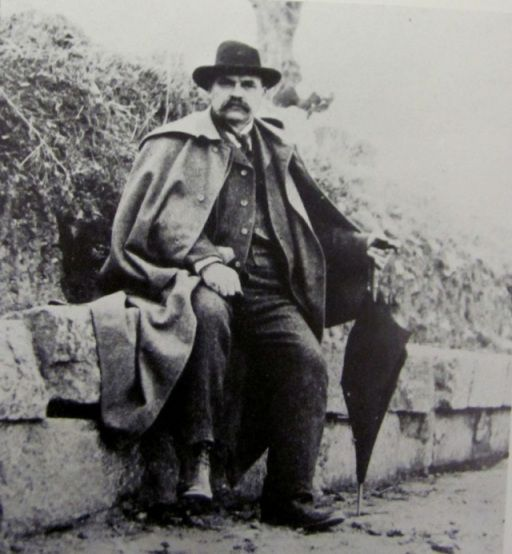 Luigi Adriano Milani, creatore del Museo Topografico dell'Etruria, morto il 9 ottobre 1914 a #Firenze. #maf