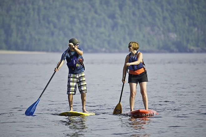 Stand Up Paddling #algomacountry