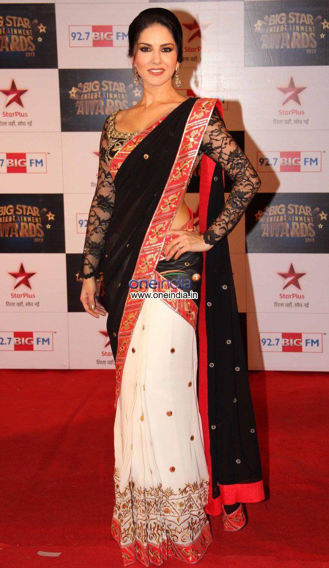 Sunny Leone sari + blouse