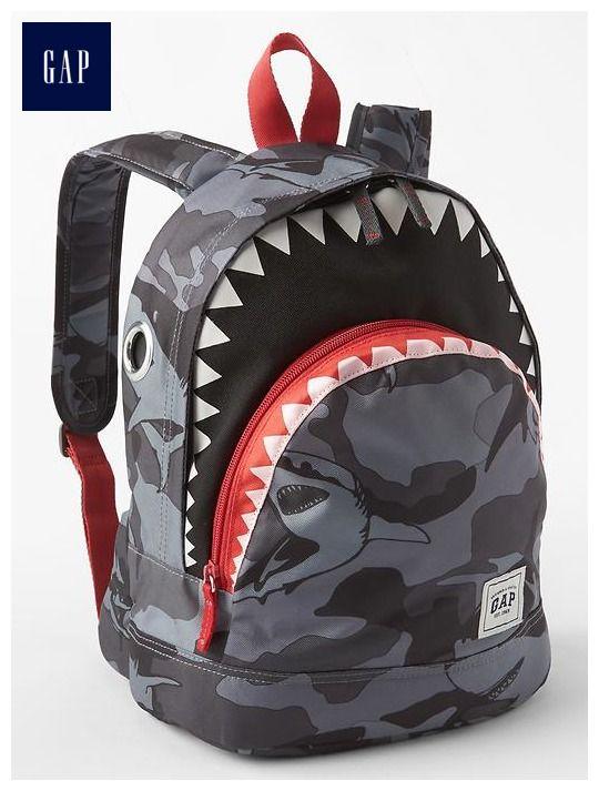 123053ef13 Shark backpack