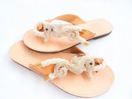 Seahorse Charm Sandals
