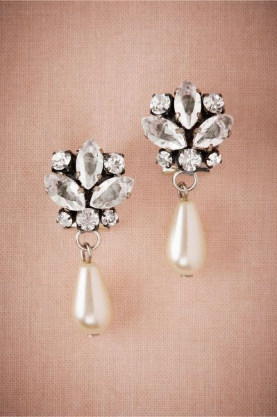 Bijoux de mariée avec des perles 2017 : classe et tradition au rendez-vous Image: 15