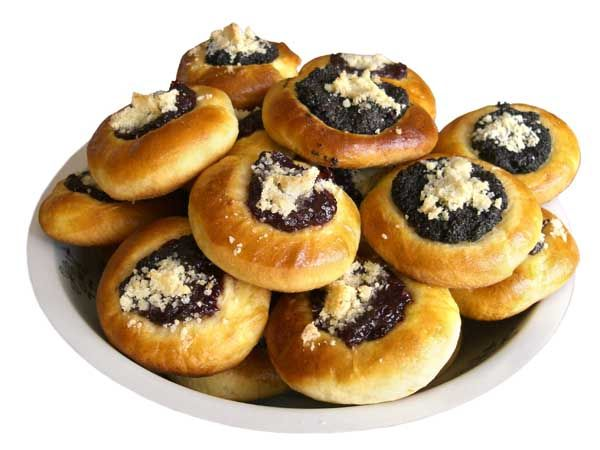 Czech Kolace Recipe (close to my Grandma's... poppyseed, cottage cheese, apricot, applesauce, prune filled)