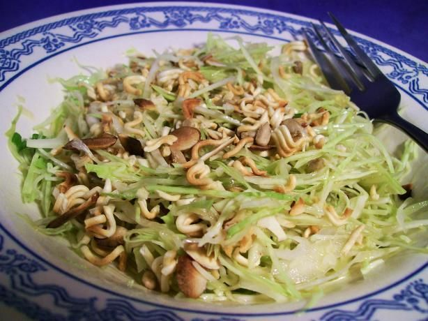 Trudi's Oriental Crunchy Salad. Photo by Sharon123 there are others similar-use bagged shredded cabbage