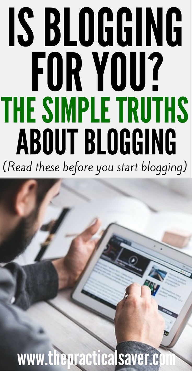 Is Blogging For You?: The Truths About Blogging Make Money Bloggingmoney  Tipssaving Moneyhow To