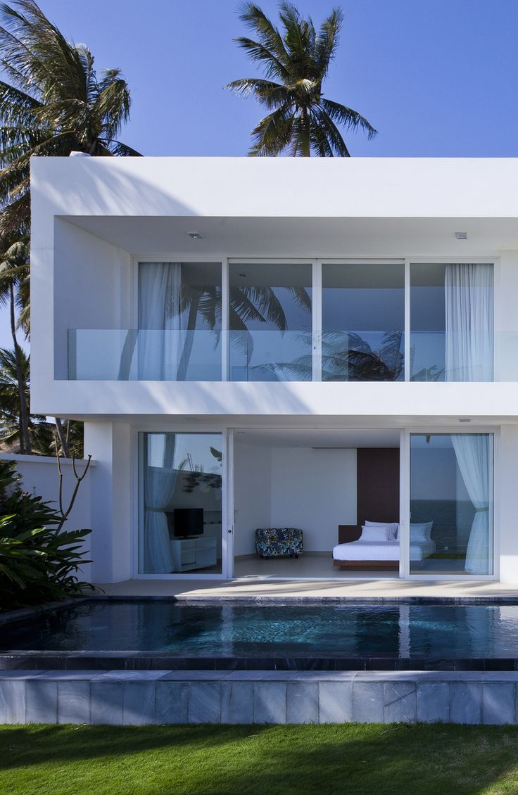 Pictures of houses on the beach - World Of Architecture Stunning Modern Beach House In Vietnam