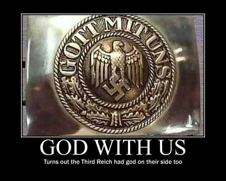 Image result for nazi god is with us