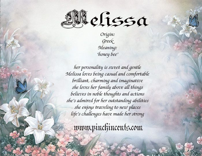 """Melissa~ Reminder to self: work on the """"sweet,"""" """"gentle,"""" and """"charming"""" part…then I'll have it down.  =)"""