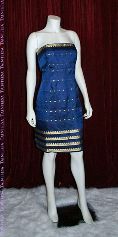 Lovely dress made from sari @ taintessa