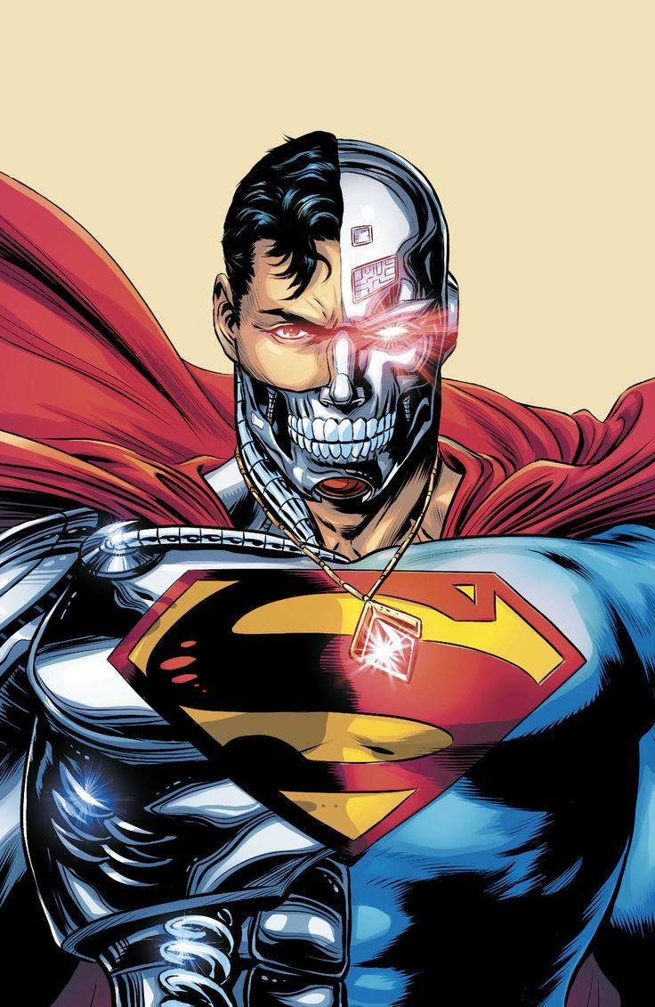 Cyborg Superman by Patch Zircher