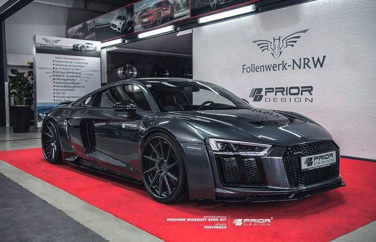 "1,713 Likes, 10 Comments - Prior Design GmbH (@priordesign) on Instagram: ""#MonsterR8 Audi R8 Prior-Design GmbH PD800WB #Widebody Aero-Kit PD5Forged Prior-Design Wheels…"""