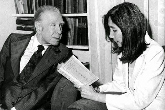 """Soy Bibliotecario: María Kodama: """"Borges tenía un costado muy celoso""""..."""