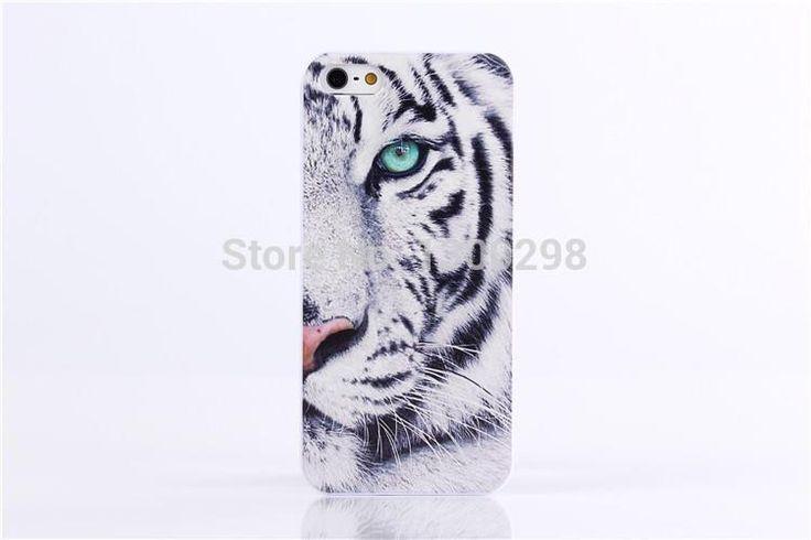 Король од дерева черно-белый узор тигр аргументы за крышки Apple iphone 5 5s бесплатная доставка оптовые