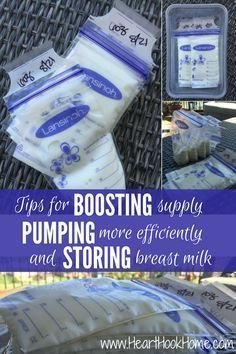 Breast Milk: Tips for Increasing Supply, Pumping and Storing Efficiently http://hearthookhome.com/breast-milk-tips-for-increasing-supply-pumping-and-storing/
