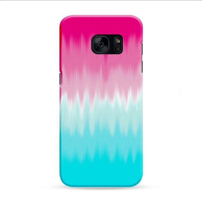 Rainbow Ice Cream Samsung Galaxy S7 Edge 3D Case