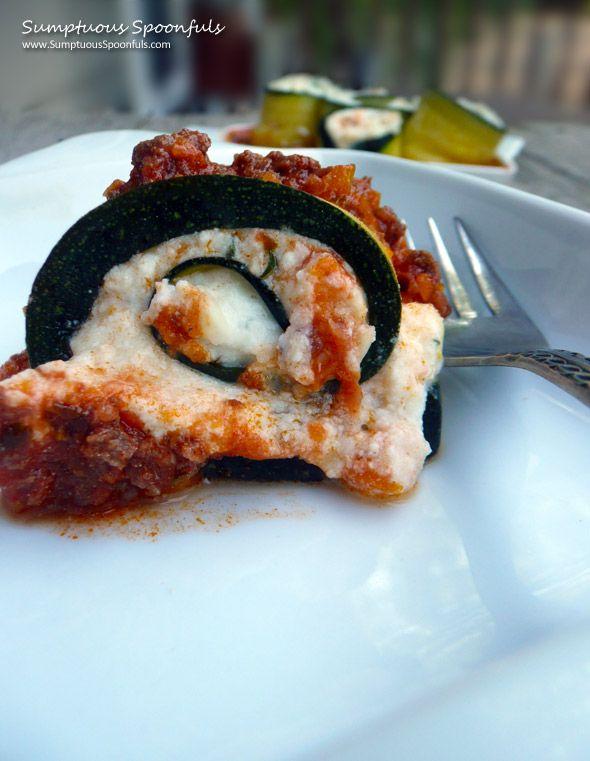 Zucchini Ricotta Spirals