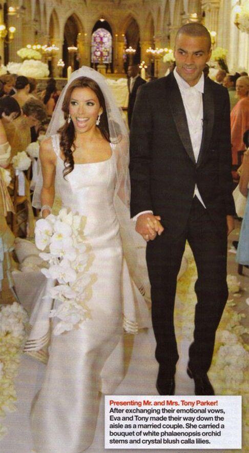 Rich Amp Famous Wedding Eva Longorias Amp Tony Parker