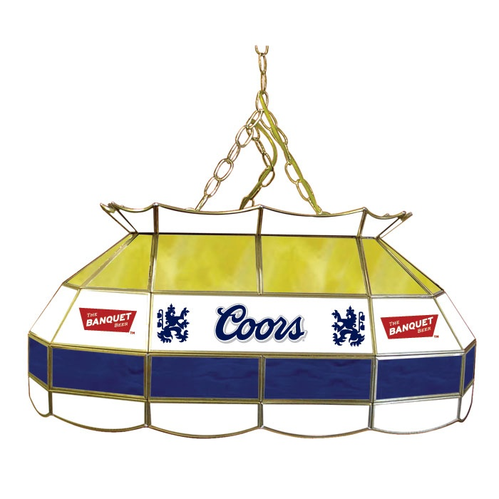 Budweiser 40 Inch Stained Glass Pool Table Light: 36 Best Coors Signs Images On Pinterest