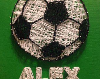 Soccer Ball String Art